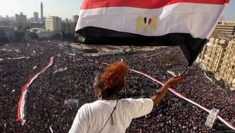 Grosskundgebung auf dem Kairoer Tahrir-Platz