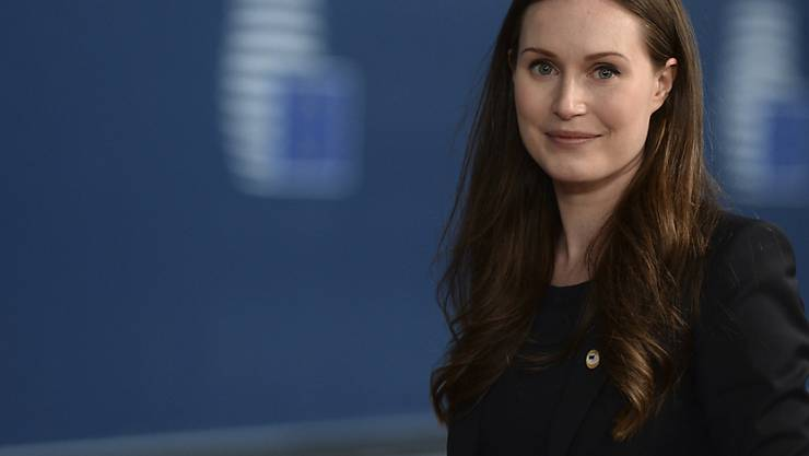 Sanna Marin ist die Ministerpräsidentin von Finnland. Foto: Johanna Geron/Reuters Pool  via AP/dpa