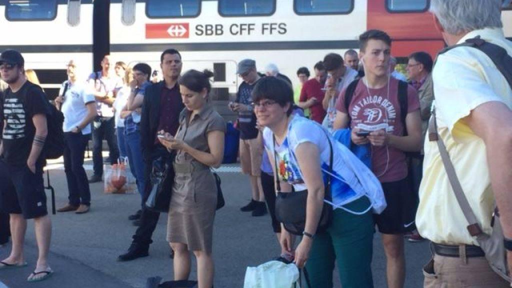 Unfreiwilliger Zwischenhalt: Die Passagiere mussten in Sulgen aussteigen.