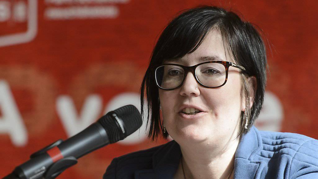 Neue Co-Präsidentin der SP Frauen: Die Neuenburger Kantonsrätin Martine Docourt. (Archivbild)