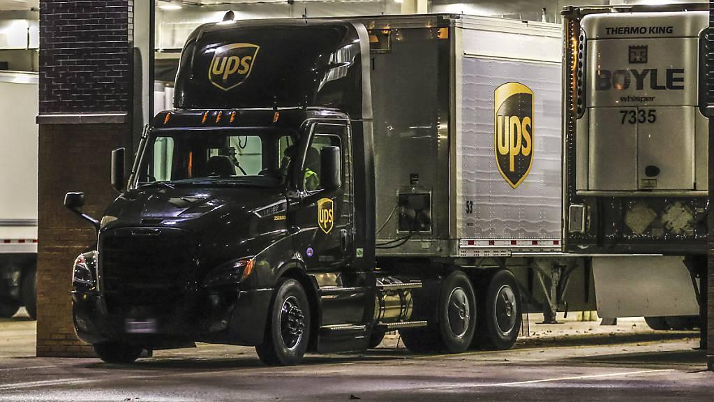 Starke Nachfrage beflügelt Paketdienst UPS. (Archiv)
