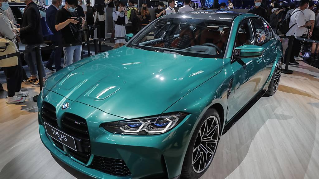 Gerade in China liefen für BMW die Geschäfte gut. (Archivbild)