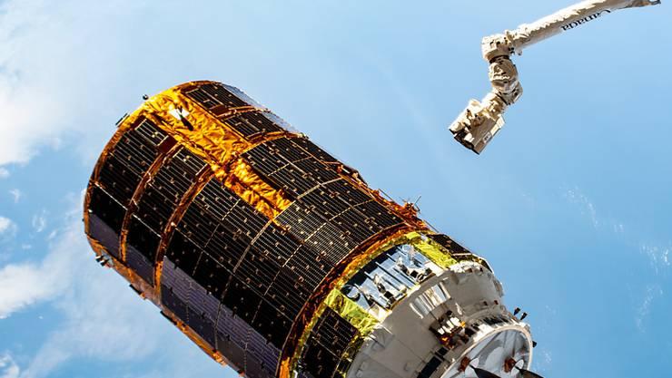 Japan schickt einen Frachter zur internationalen Raumstation ISS. (Archivbild)