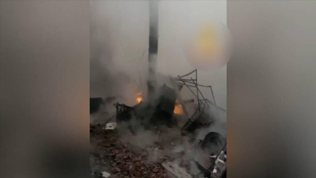 Turin (IT): Dach von Weltkulturerbe der UNESCO brennt ab