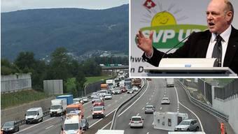 Für Ueli Giezendanner ist klar: Mit anderen Leitplanken wäre es nicht zum spektakulären Unfall und dem anschliessenden Verkehrschaos auf der A1 gekommen.