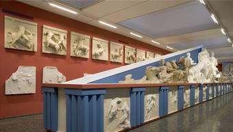Ein wahrer Schatz für Basel: Die Gipsabgüsse der Skulpturen des altgriechischen Parthenon-Tempels in der Skulpturhalle Basel. (Symbolbild)