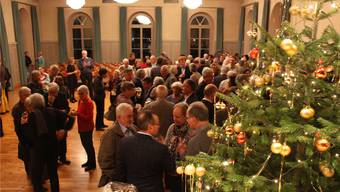 Beim Apéro erhielten die Gäste Gelegenheit, sich ein gutes neues Jahr zu wünschen.
