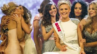 Die Miss Schweiz 2013 heisst Dominique Rinderknecht.