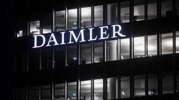 Daimler und Geely gründen Joint-Venture für E-Smart in China. (Archiv)
