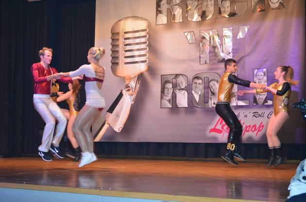 Tanzfeeling pur an der 9. Ausgabe der «Rock'n'Roll Fever Show und Dance Night» in der Mehrzweckhalle Hausen mit demRock'n'Roll-Club Lollipop;Der Rock'n'Roll-Club Bern-Buchsi hebt ab.