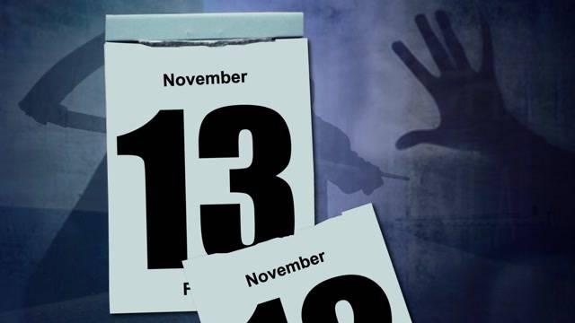 Morgen ist Freitag der 13.