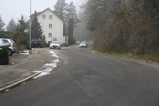 Bei Tempo 30  flächendeckend müsste auch an der steilen Wengisteinstrasse auf die Bremse gedrückt werden