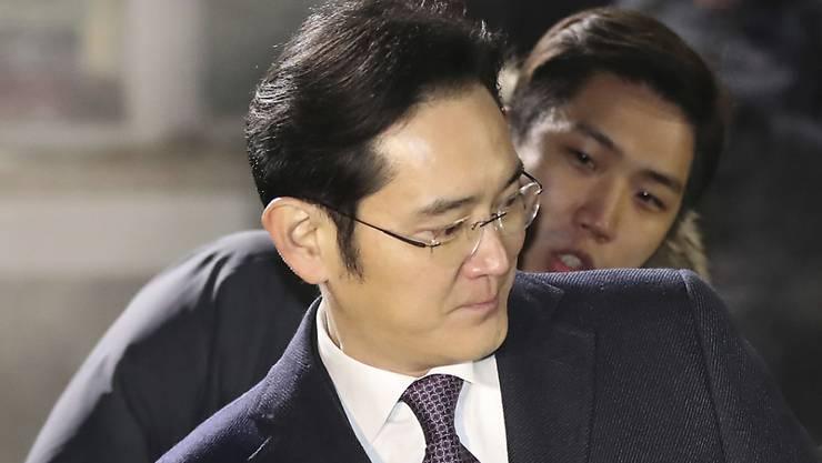 Wird nicht in Haft gesetzt: Samsung-De-Facto-Chef Lee Jae Yong, der sich mit Korruptionsvorwürfen konfrontiert sieht.