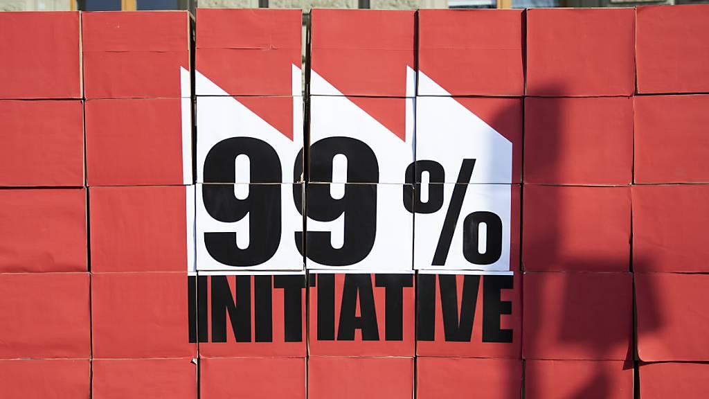 Bundesrat lehnt 99-Prozent-Initiative ohne Gegenvorschlag ab