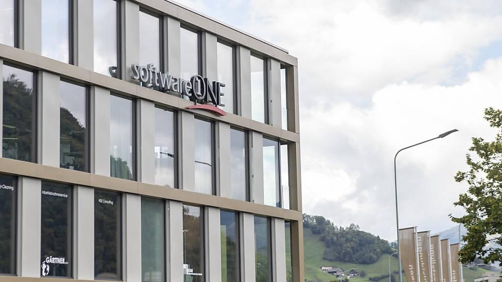 Der Firmensitz von Softwareone in Stans NW: Neu gehört zu dem Unternehmen auch ein SAP-Spezialist aus Kentucky. (Archivaufnahme)