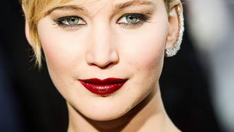 Der US-Star Jennifer Lawrence bei der Premiere des Sequels «The Hunger Games» in Paris.