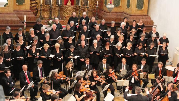 Kammerchor Solothurn mit Orchester