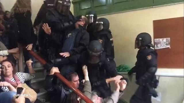 Über 460 Verletzte bei Katalonien-Abstimmung