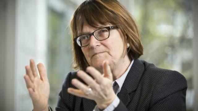 «Der Schweizer Finanzplatz hat klare Stärken»: Anne Héritier Lachat, Präsidentin der Finanzmarktaufsicht (Finma). Foto: Annika Bütschi