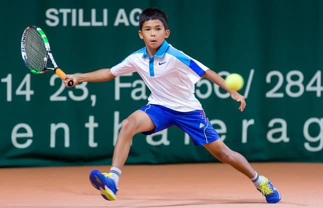 Duri Zimmermann gewinnt in der U14-Kategorie.