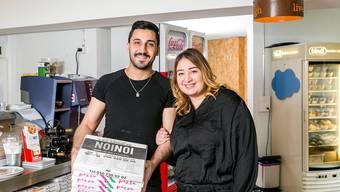 Haben seit Kurzem das Sagen im «Noi Noi»: Hasan und Sevgi Yesilyurt. Sandra Ardizzone