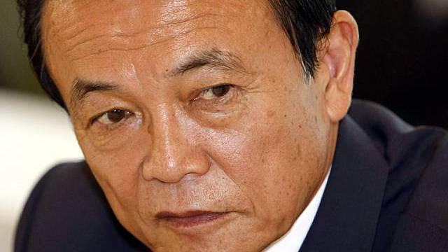 Taro Aso ist schwer angeschlagen