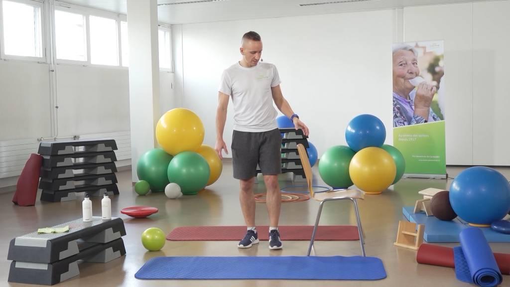 «Gymnastik im Wohnzimmer» vom 13. Juli 2021
