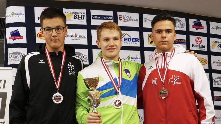 Mika Wagner gewinnt die Bronzemedaille.