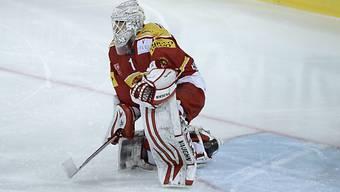 Langnau-Goalie Remo Giovannini von Ajoie zweimal bezwungen