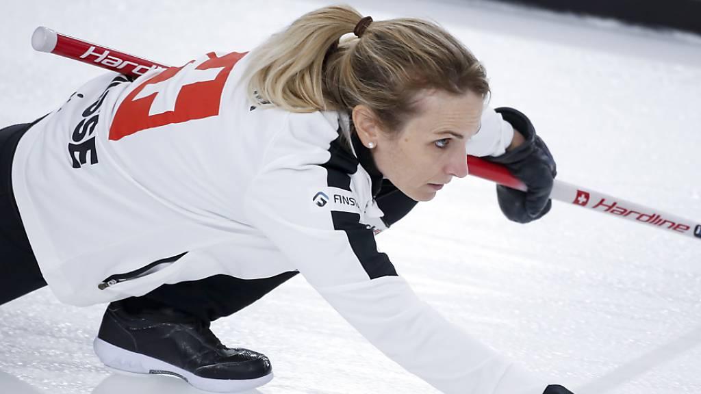 Die Schweizer Curlerinnen nähern sich einem Rekord