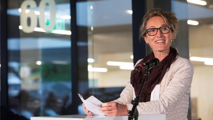 Susanne Hochuli bei der Einweihung des Kopf- und Neurozentrums am Kantonsspital Aarau im Mai. Alex Spichale