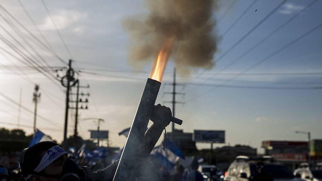 In Nicaragua sind bei Unruhen erneut zahlreiche Menschen ums Leben gekommen.