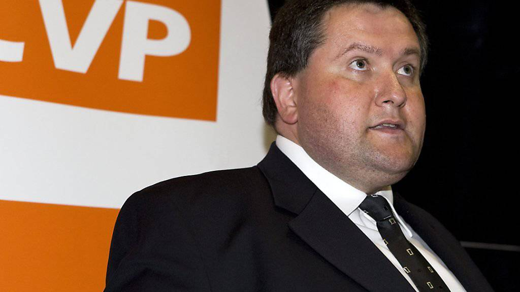 Nicolas Voide in einer Aufnahme von 2009. Der CVP-Politiker fordert auf einer SVP-Liste den früheren CVP-Präsidenten Christophe Darbellay bei den Walliser Staatsratswahlen heraus. (Archivbild)