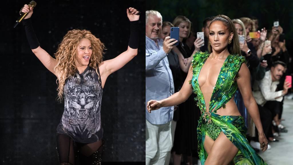 Shakira und Jennifer Lopez treten beim Super Bowl auf