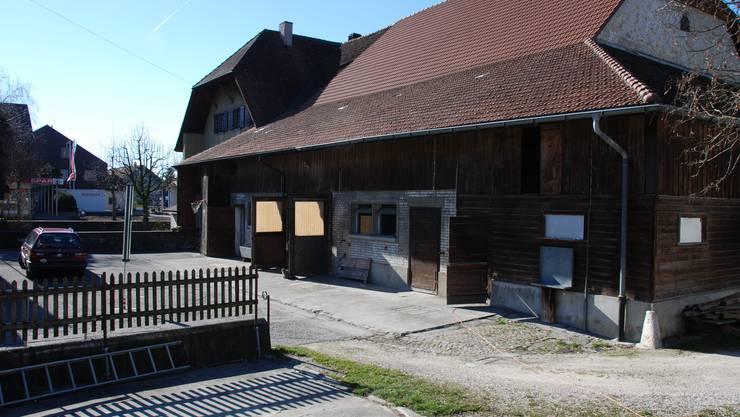 Standort für Heizzentrale Wärmeverbund in Kestenholz.