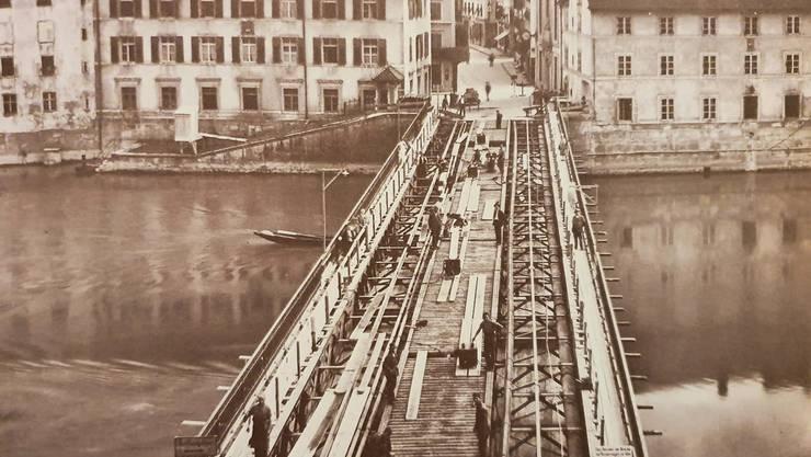 1930 wurde die Wengibrücke gründlich erneuert und die Fahrbahn verbreitert.