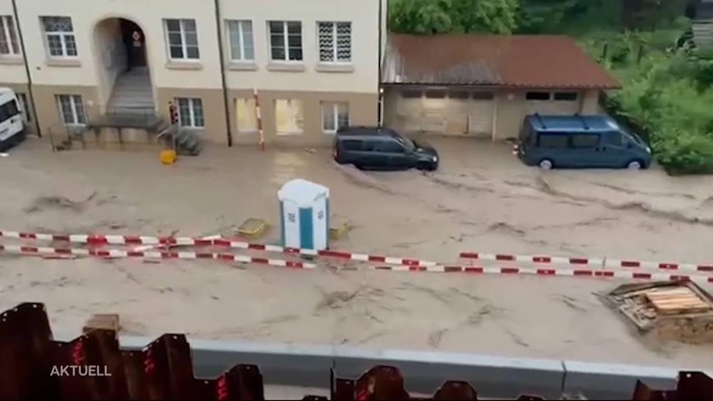 Unwetterserie: Schon wieder Regenfälle und Hochwasser