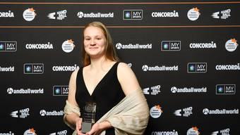 Darf sich über die Auszeichnung als «Beste Nachwuchspielerin SPL» freuen: Alina Stähelin, Spielerin der HSG Leimental.