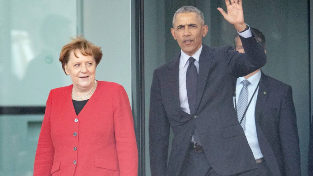 Barack Obama ❤️ Angela Merkel