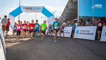 Am Mittwoch, 15. August, startete der AKB Run auf dem Mutschellen.