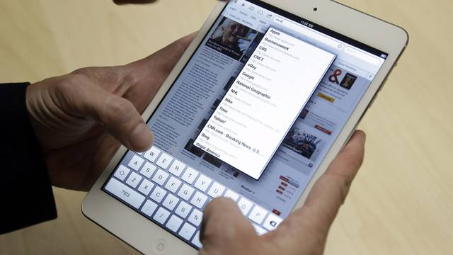 Alle reissen sich um Tablets (Symbolbild)