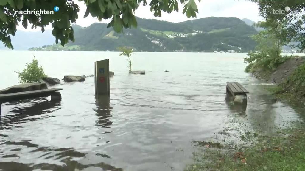 Hochwassersituation Nidwalden