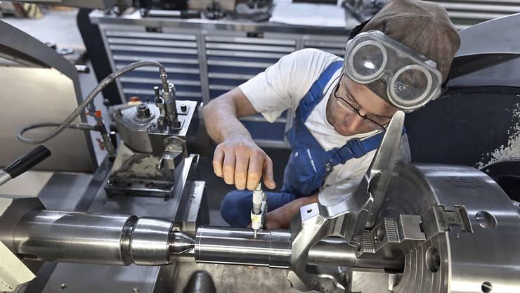 Die Metallindustrie im Aargau erholt sich vom Frankenschock. (Archiv)