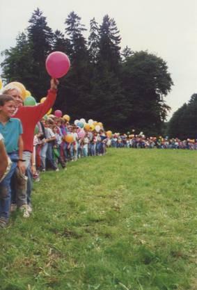 """Der Grossanlass im Jahr 1988 zum Motto """"Wunderstadt Paradisos"""" in Solothurn"""