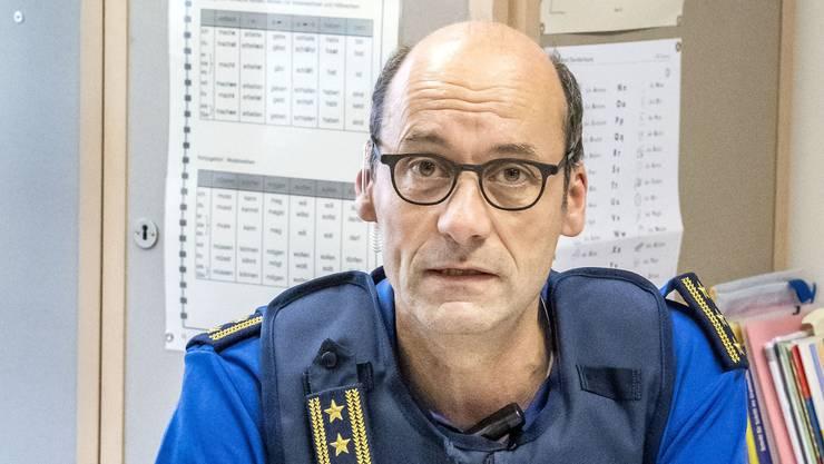 Martin Roth, Polizeikommandant