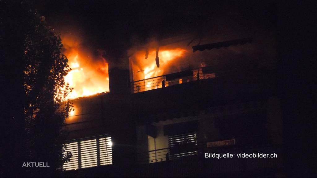 Jagd nach einer Mücke führte zum Wohnungsbrand in Zofingen