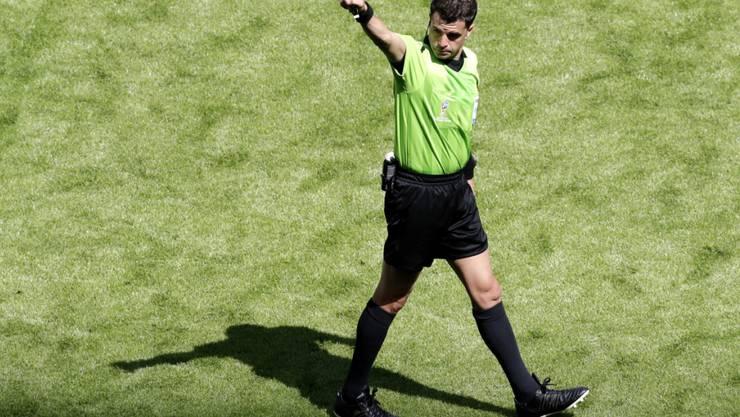 Andres Cunha stand in der Vorrunde zweimal im Einsatz