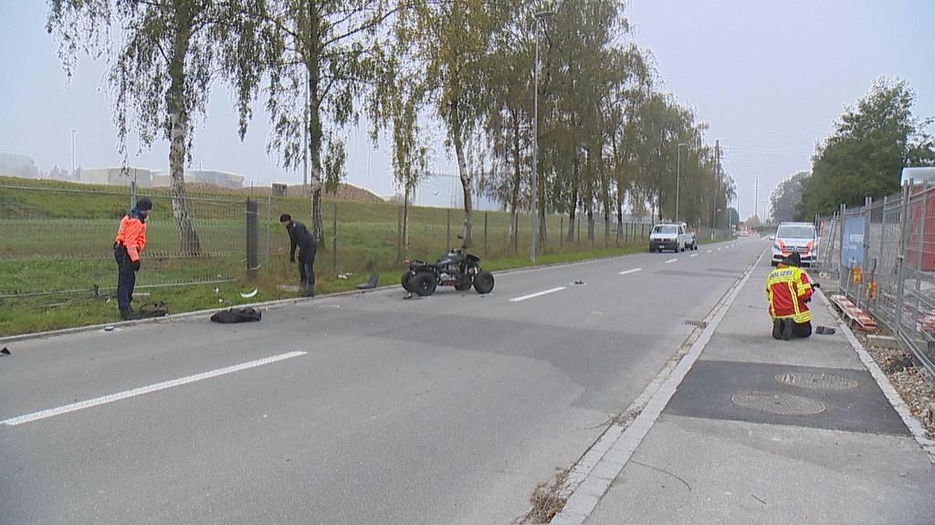 Kontrolle verloren: 22-Jähriger bei Quad-Unfall schwer verletzt