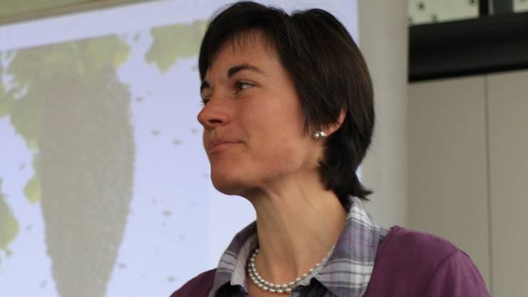 Islisbergs Gemeindeammann Alexandra Abbt kämpft für mehr Biodiver- sität, mehr Eigenverantwortung und weniger Pestizide. ROB