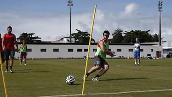 Musste Training abbrechen: Mario Gavranovic